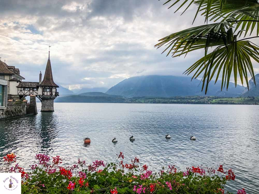 Best things to see at Lake Thun, stroll the hike_