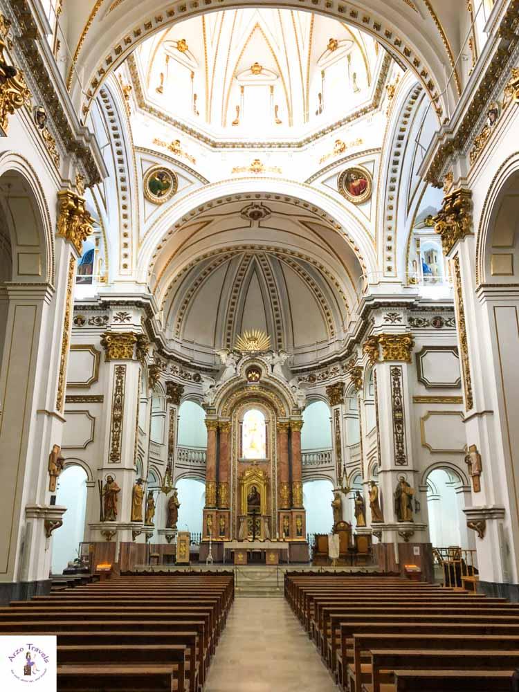 Church in Altea, Costa Blanca