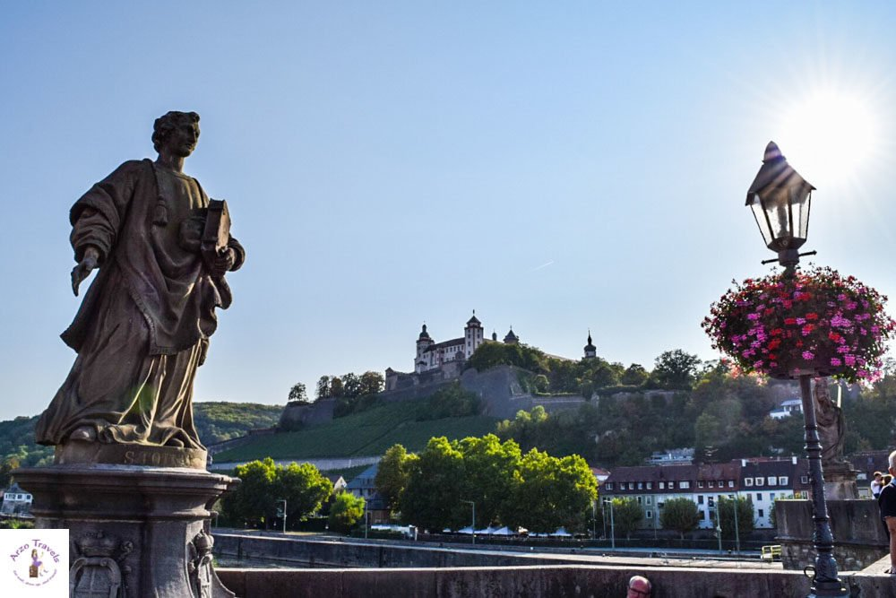 Festung, best things to see in Wurzburg, Bavaria, Fountain