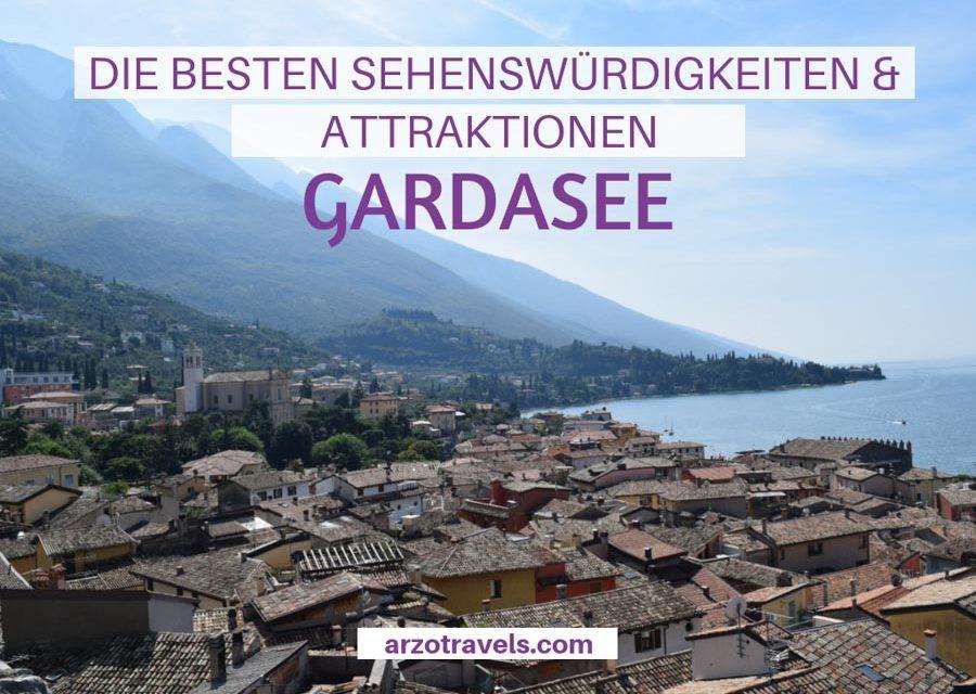 Die besten Sehenswürdigkeiten und schönsten Orte am Gardasee