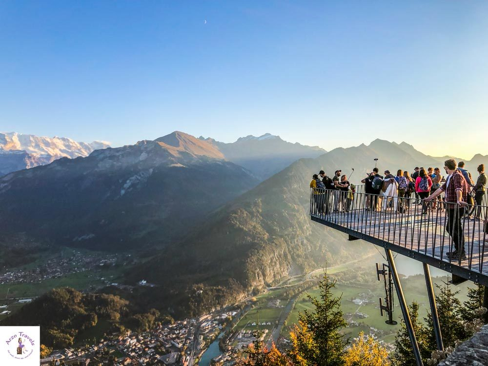 Harder Kulm in Interlaken and things to do