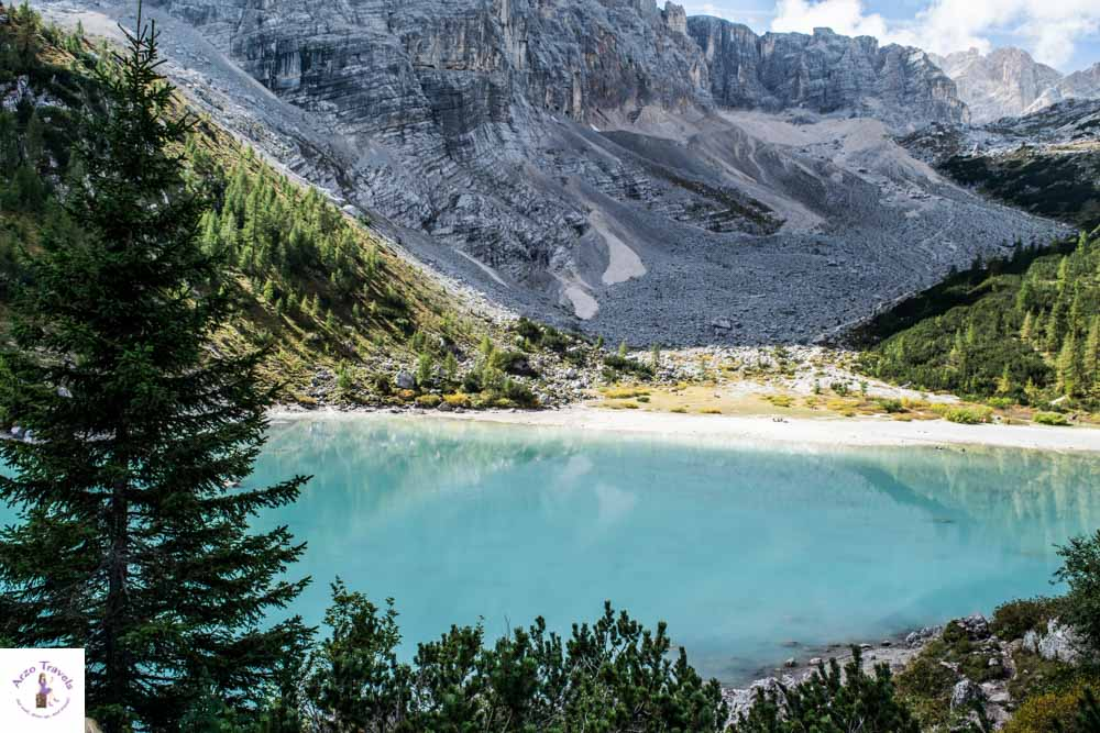 How to get to Lago di Sorapis in teh Dolomites