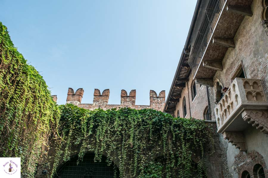 Juliet´s Balcony in Verony