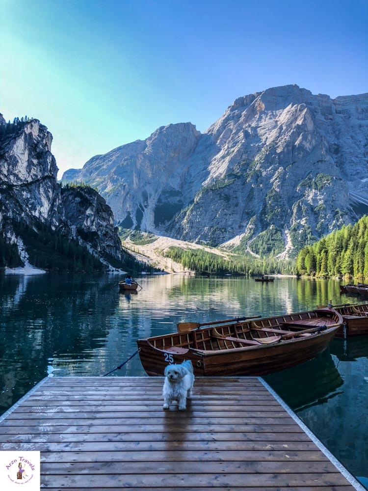 Lago di Braies in the Dolomites