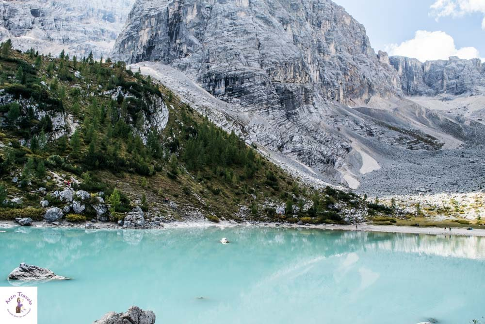 Lago di Sorapis, best things to see in the Dolomites