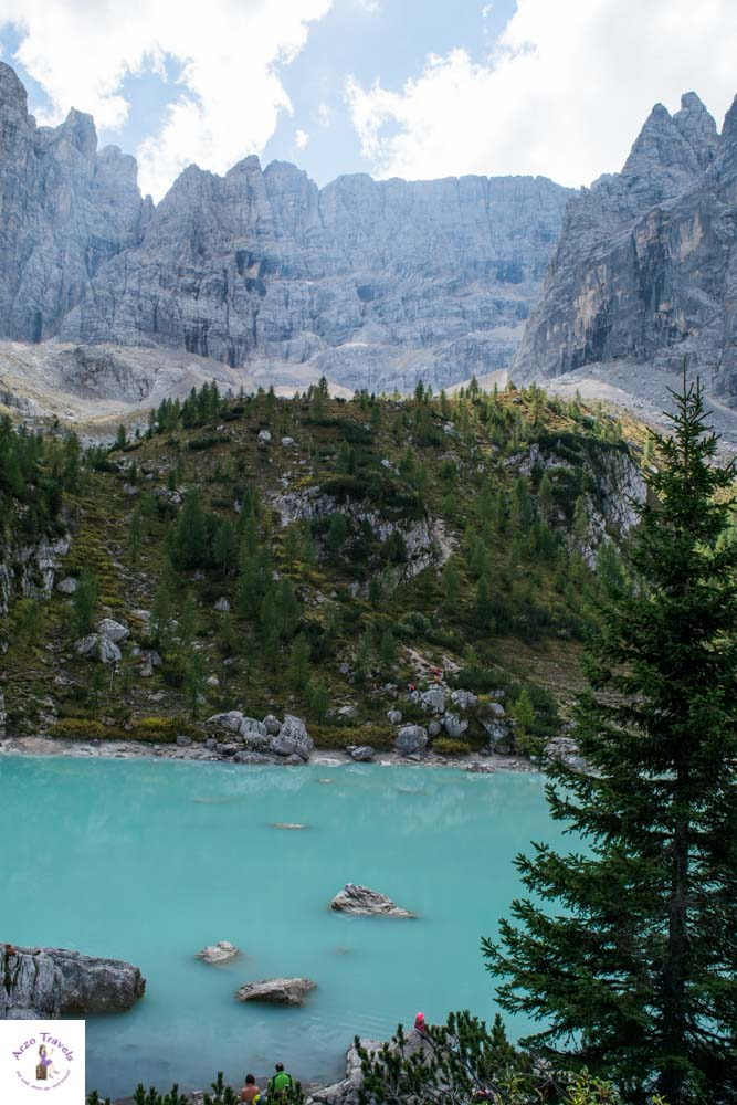 Lago di Sorapis, most beautiful lake in Italy