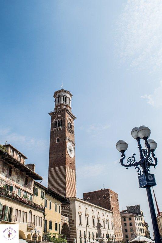 Lamberti Tower on Piazza della Erbe