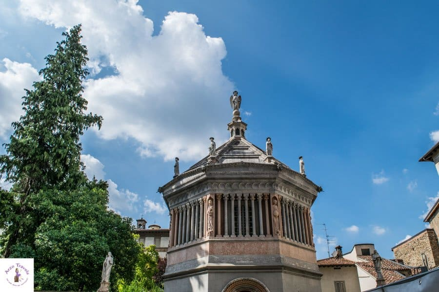 Piazza Duomo in Bergamo, Italy. One of the best places to visit