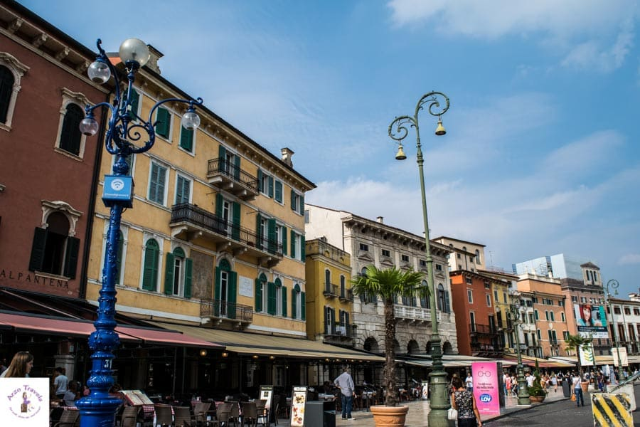 Piazza Erbe - free things to do in Verona