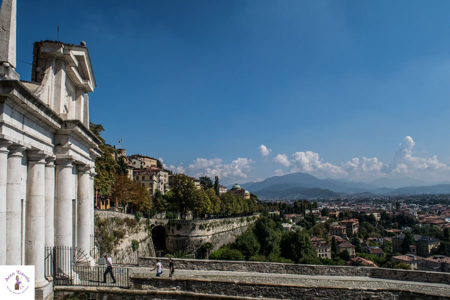 Venetian Walls in Bergamo, CItta Alta