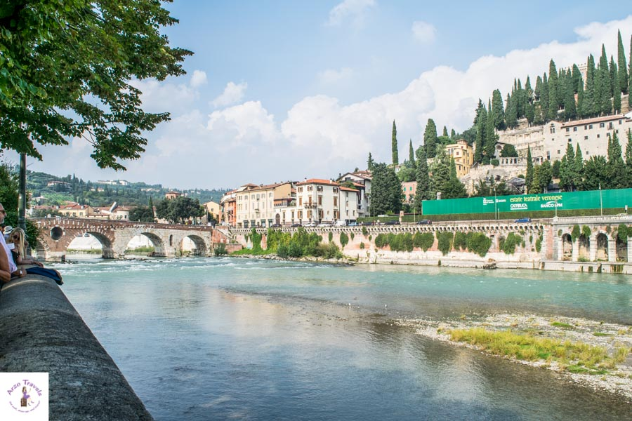 Verona things to do - stroll Adige River