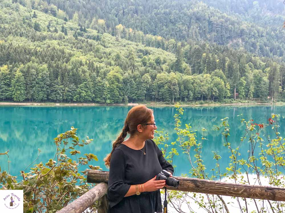 What to do in Neuschwanstein, hike Lake Alpsee