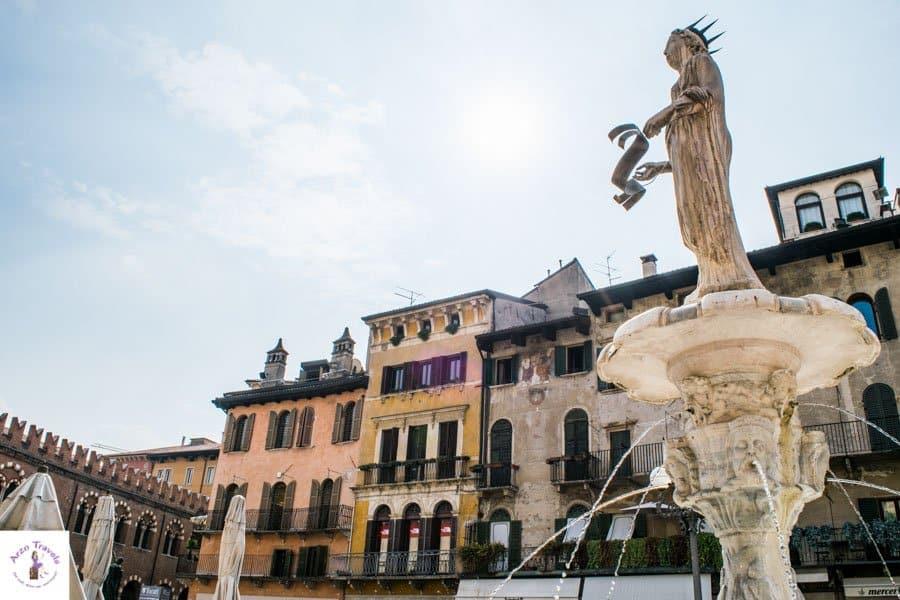Where to go in Verona _ Piazza delle Erbe