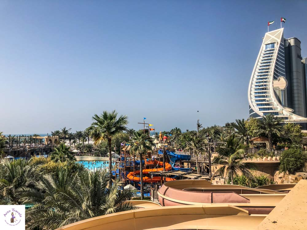 Wild Wadi Waterpark Dubai Views