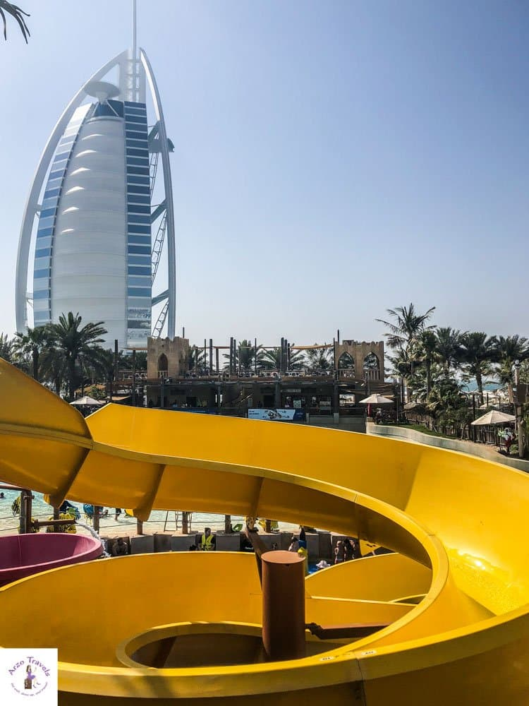 Wild Wadi Waterpark Dubai Waterslides