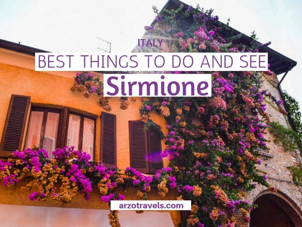 Things to do in Sirmione, Lake Garda, Italy