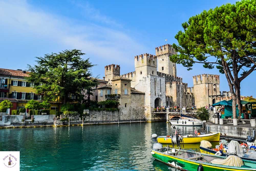 Best towns at Lake Garda Sirmione, Lake Grada