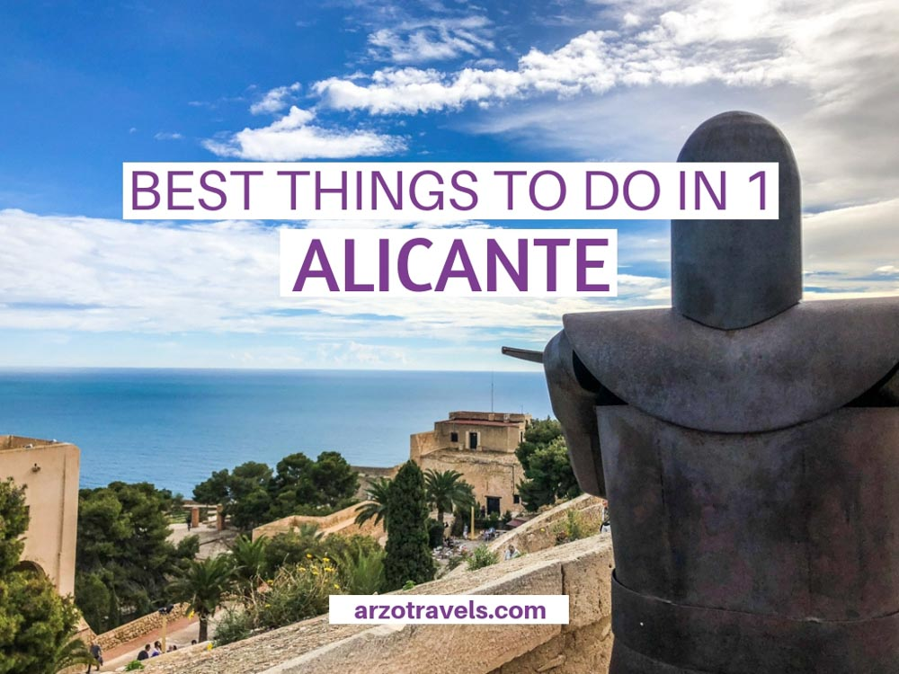 What to do and see in Alicante in one day, itinerary, Costa Blanca