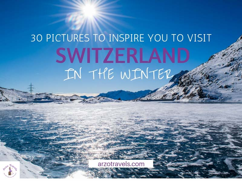 Pictures to inspire you to visit Switzerland in the winter