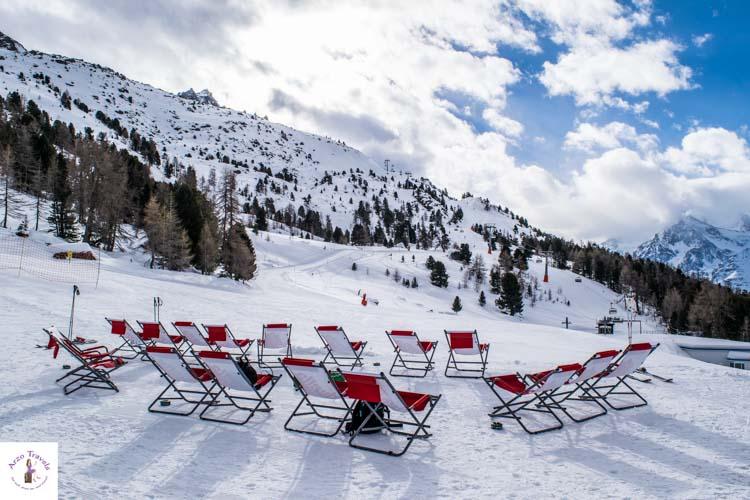 Relax in Switzerland in the winter
