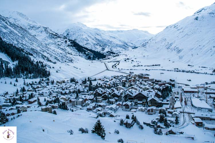 Switzerland in winter, Andermatt