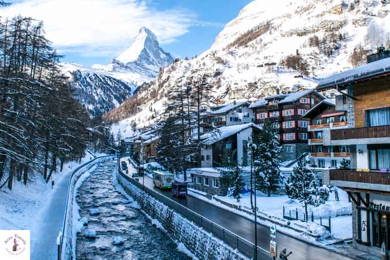 Switzerland in winter, Zermatt