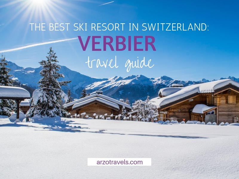 Verbier the best ski and winter destination in Switzerland