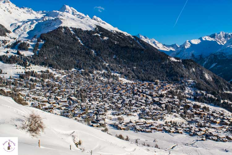 What does Switzerland look like in the winter?