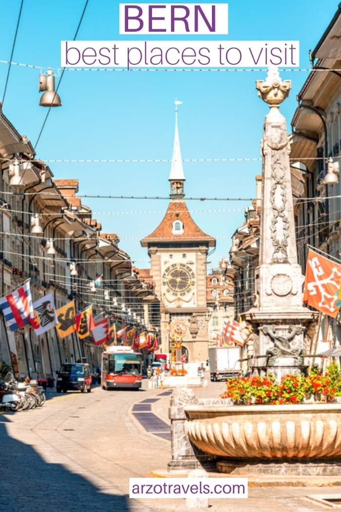 Bern places to visit in 1 day, Arzo Travels