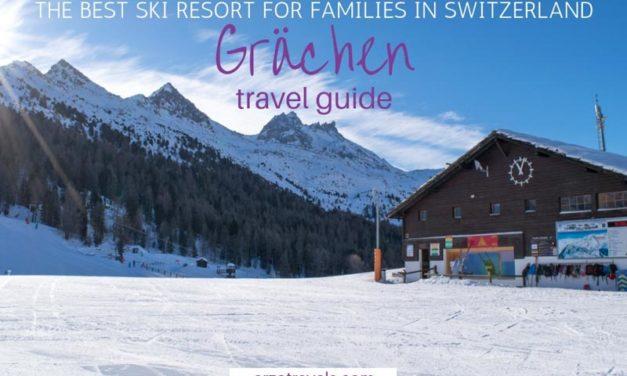 The Best Family Skiing Destination in Europe – Grächen, Switzerland