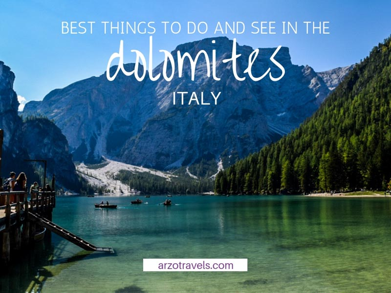 Best Things to do in Dolomites