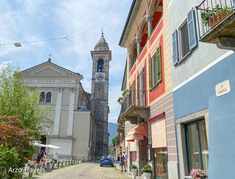 Locarno old town