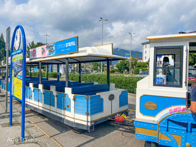 Sightseeing trains in Locarno