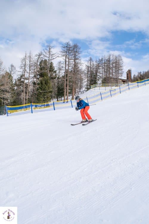 Things to do in Grächen for children, skiing