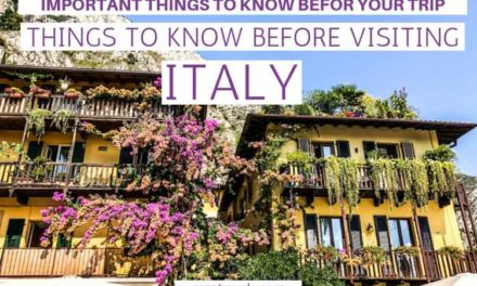 Best Italy Travel Tips