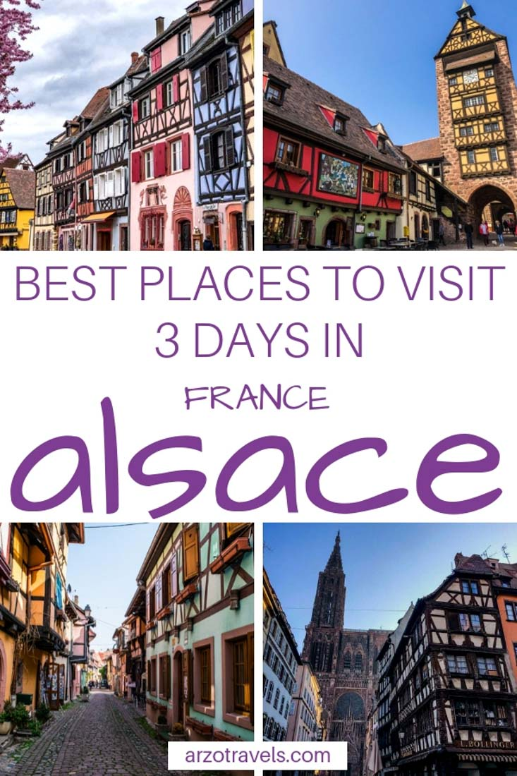 Alsace, France Road trip in 3 days, best places to visit and best places to see, Alsace wine tour road trip
