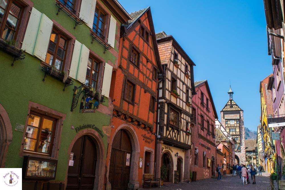 Alsaces wine tour road trip, Ribeauville