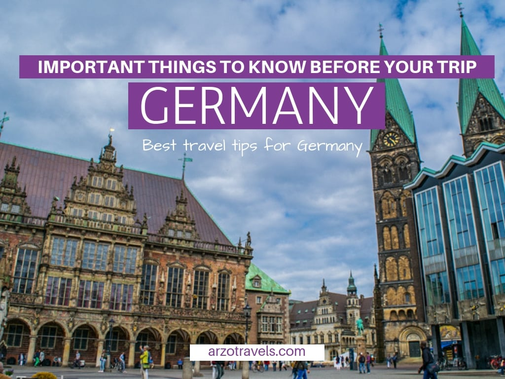 Best Germany travel tips, things to know before visiting Germany