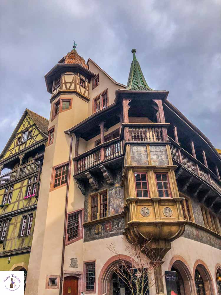 Colmar what to visit and see - the Pfister House