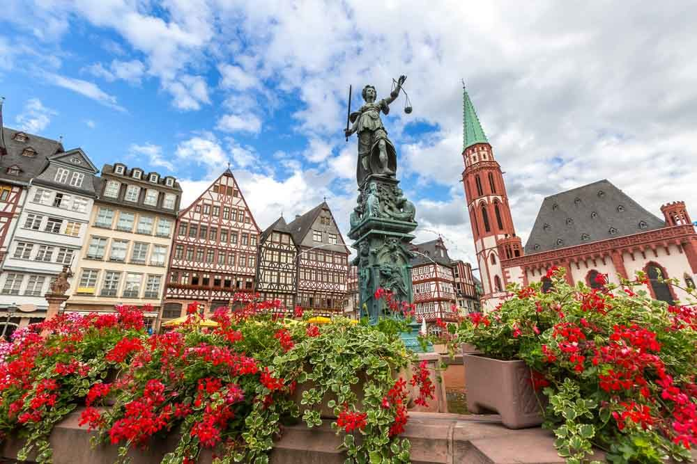 Frankfurt Römer, where to go in Germany when road tripping_