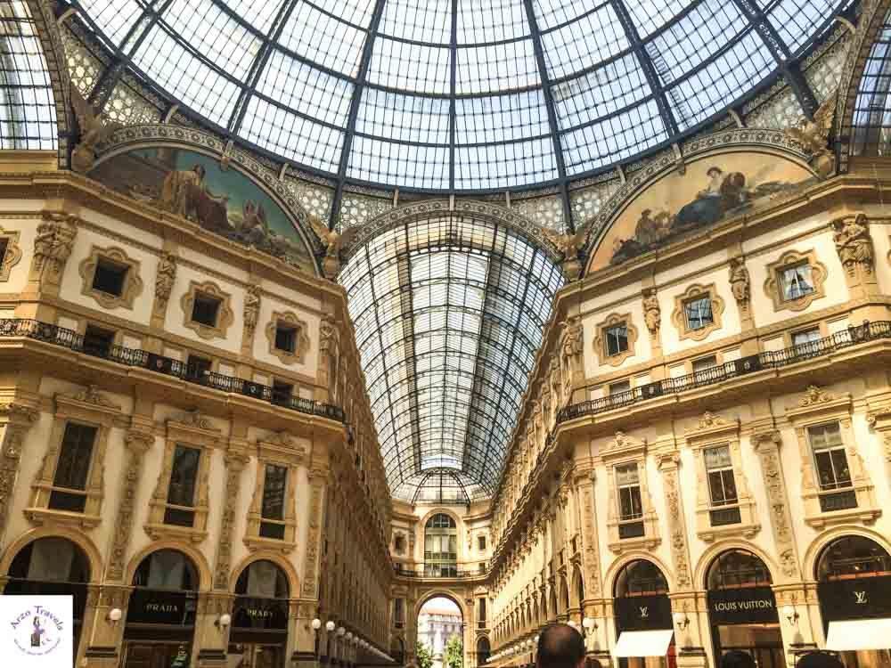 Galleria Vittorio Emanuele in Milan, Lombrady