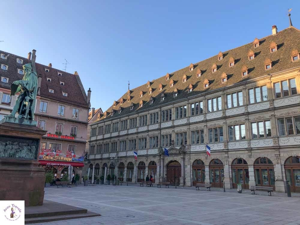 Gutenberg Place in Strasburg is a must see
