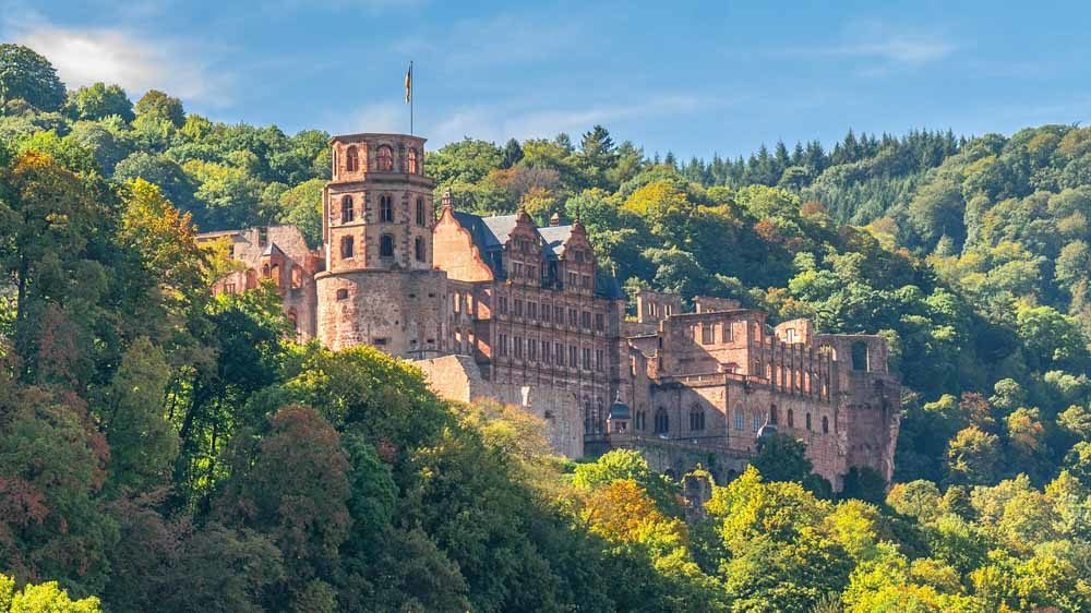 Heidelberg Castle Germany bucket list