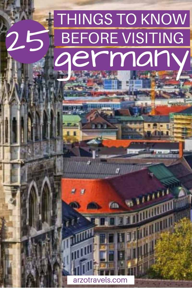 Here are 25 things you should know before visiting Germany Europe. Best Germany travel tips