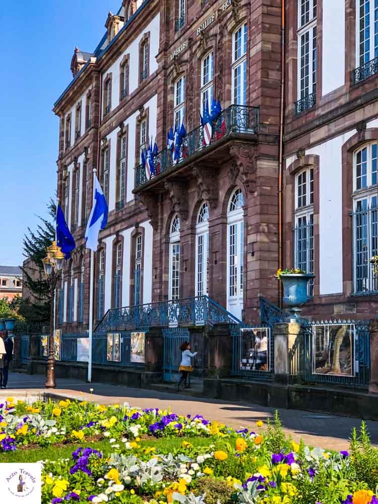 Hotel de Ville Strasbourg, France
