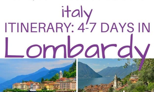 One Week in Lombardy – How to See Bergamo, Milan, and Lake Como in 5-7 Days