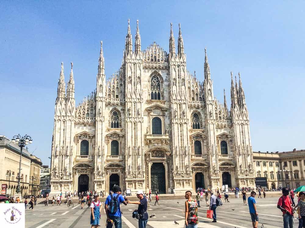 Milano Duomo, Lombardy itinerary