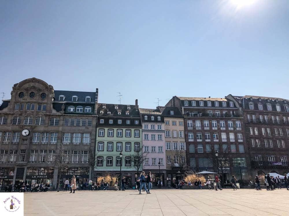 Strasbourg Place Kleber, best places to visit in Strasbourg in one day