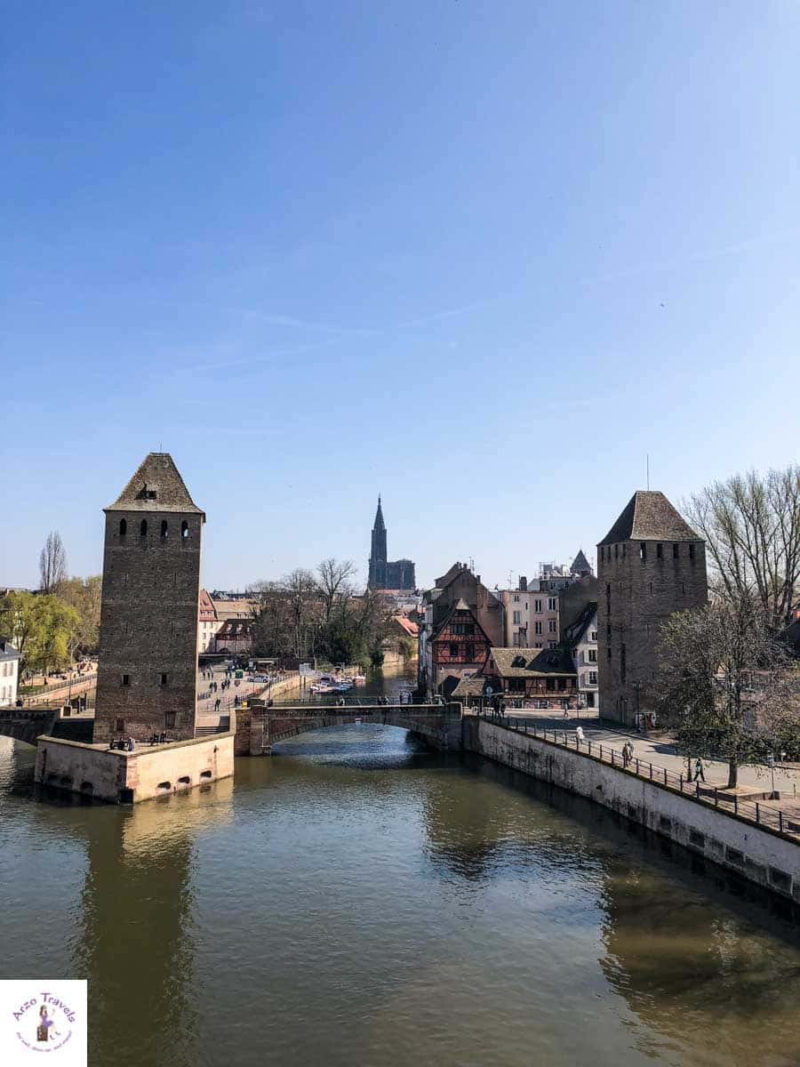 Strasbourg, view from Barrage Vauban