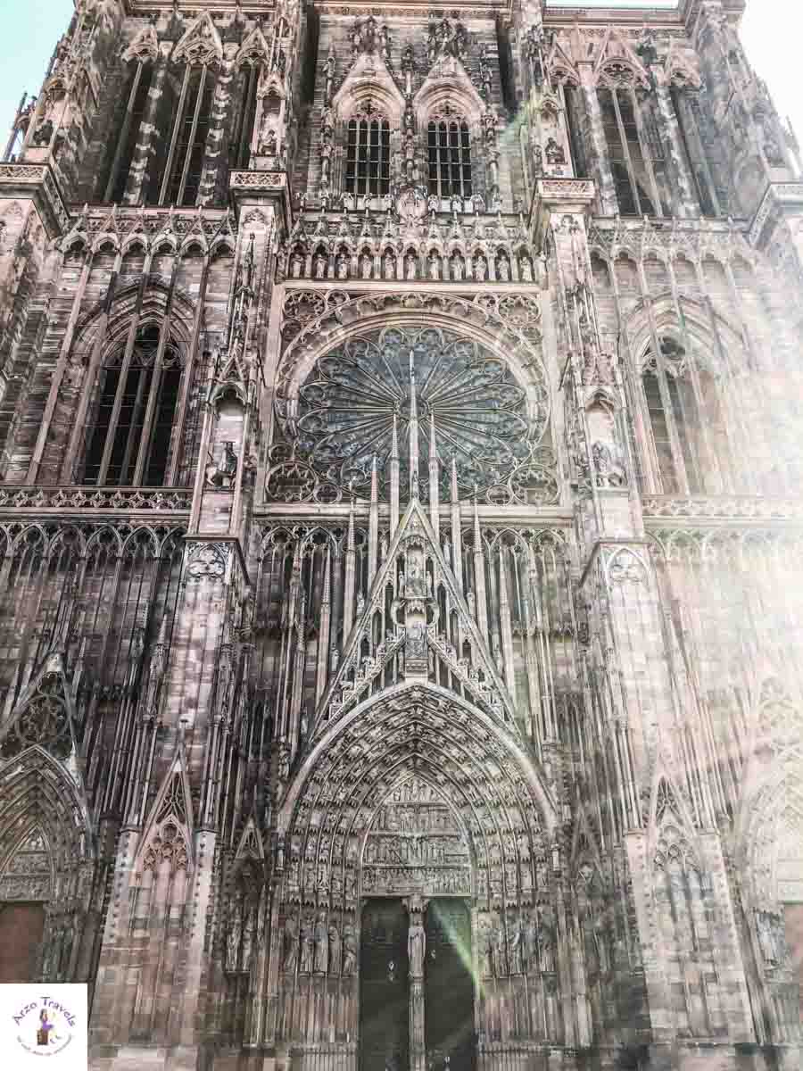 Strasbourgs best tourist attrctions to see, one is the Cathedral